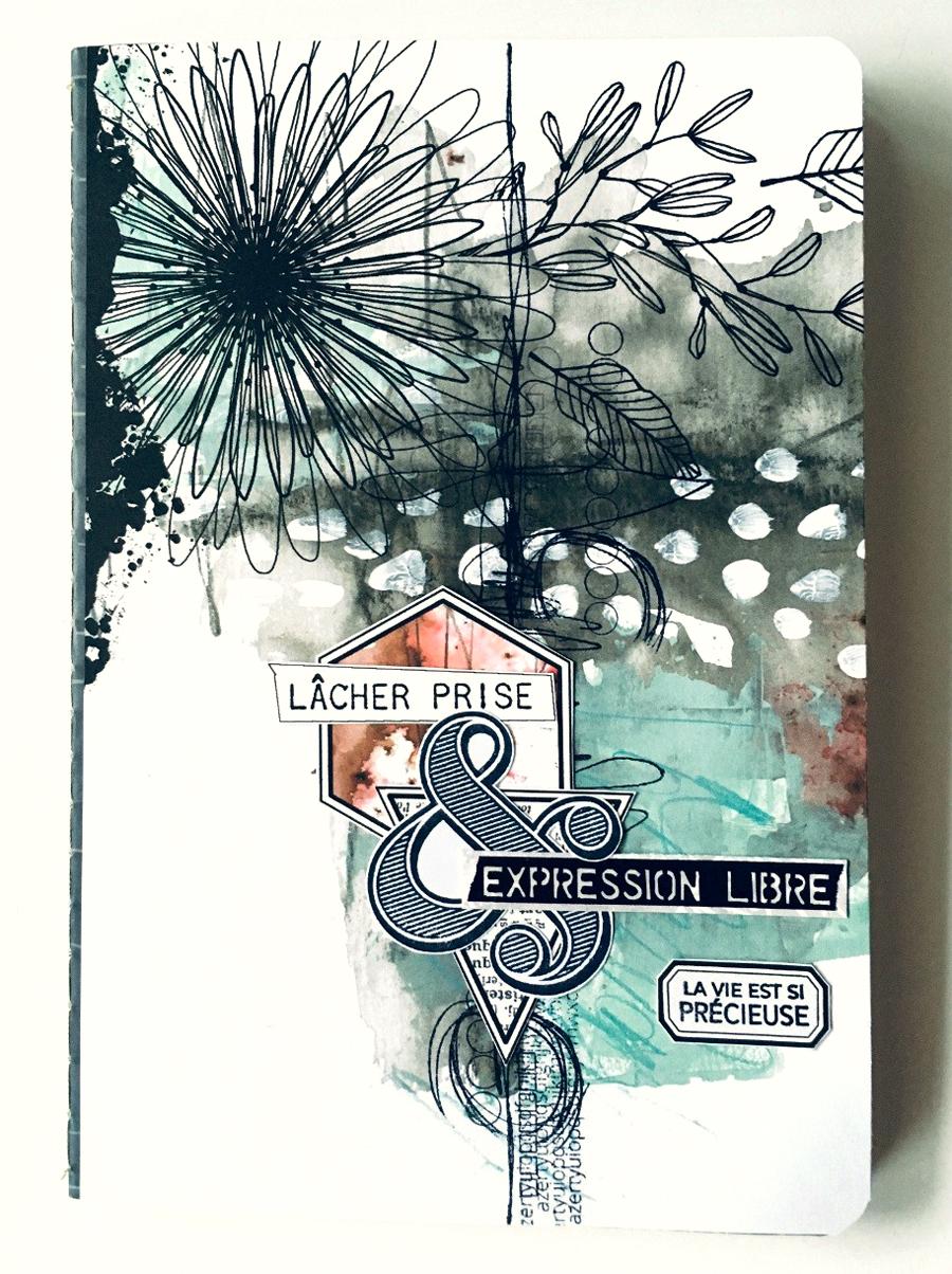 carnet scrapbooking ephemeria by Jasmina