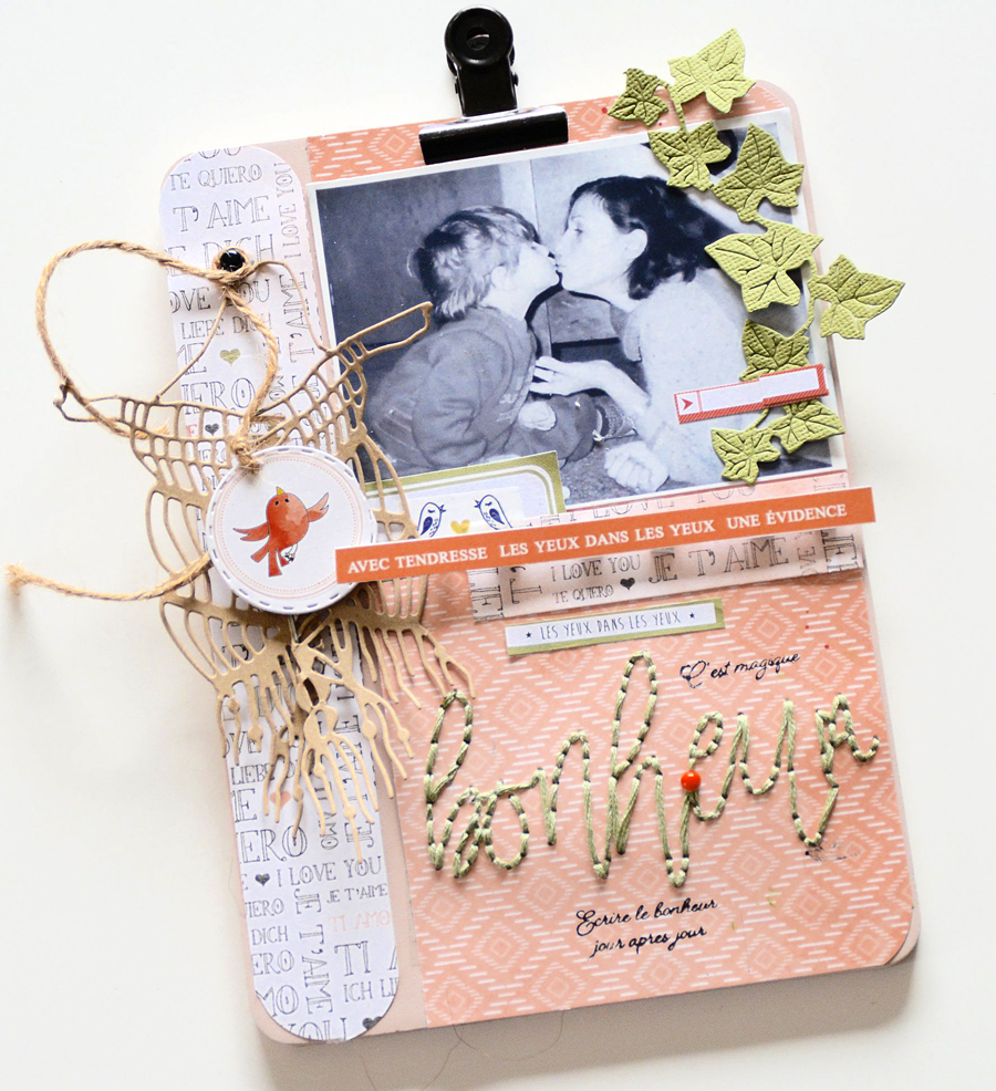 Homedeco scrapbooking ephemeria by Gisele