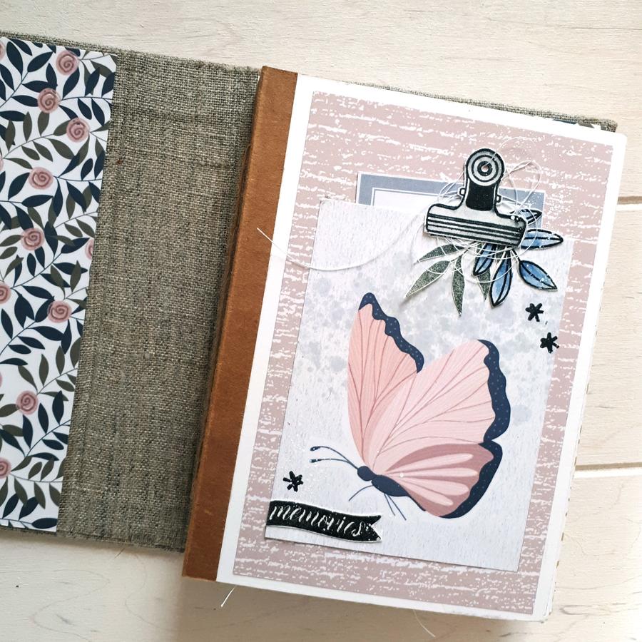 Mini scrapbooking éphéméria by Cricri