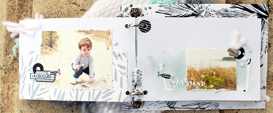 mini scrapbooking ephemeria by Anaïs