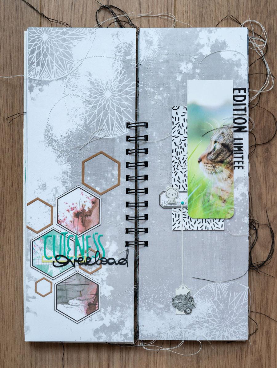 mini scrapbooking éphéméria by Fred