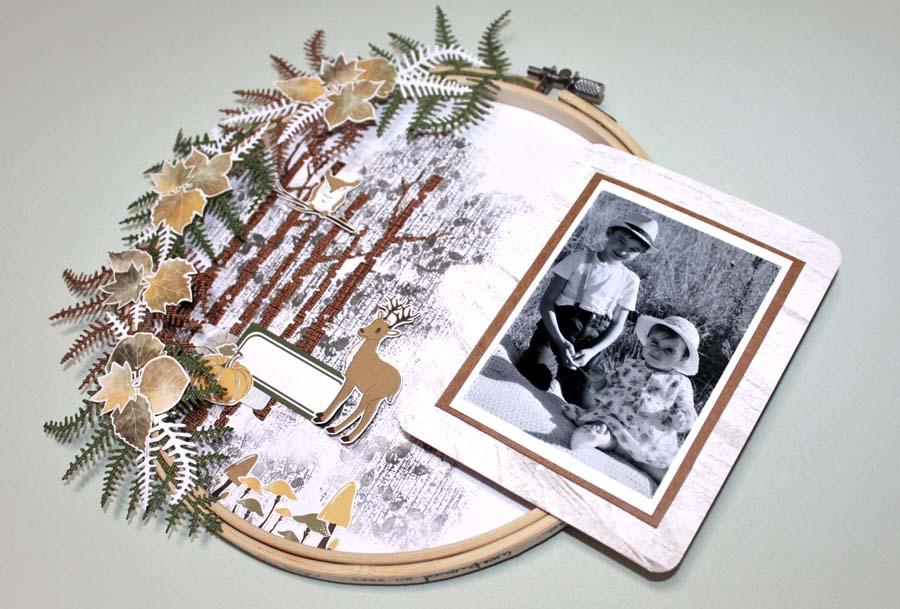 Home déco by Julie pour éphéméria avec des cercles à broder
