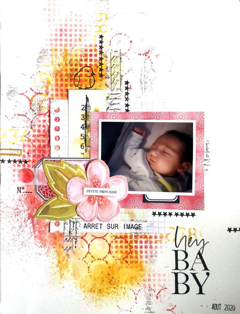 Page petite princesse de Kris My pour éphéméria