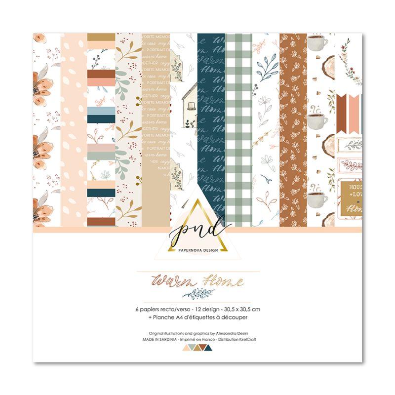 collection warm home papernova design