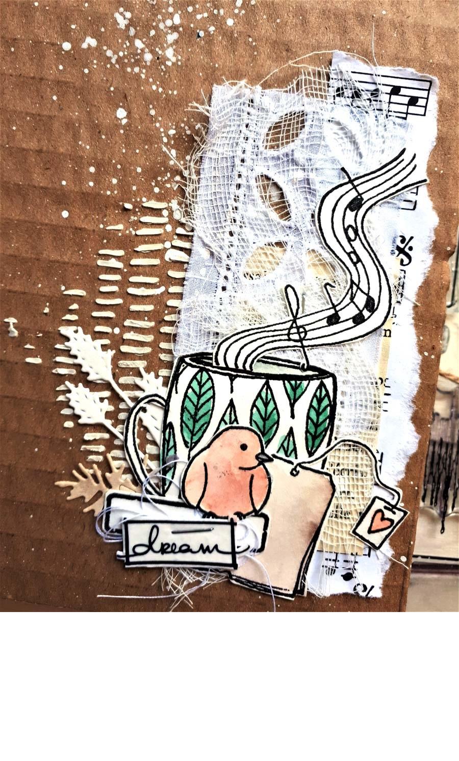 Mini album surprise scrapbooking by Cricri pour éphéméria
