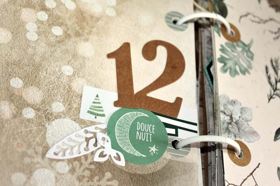 December Daily by Julie pour éphéméria-detail 2