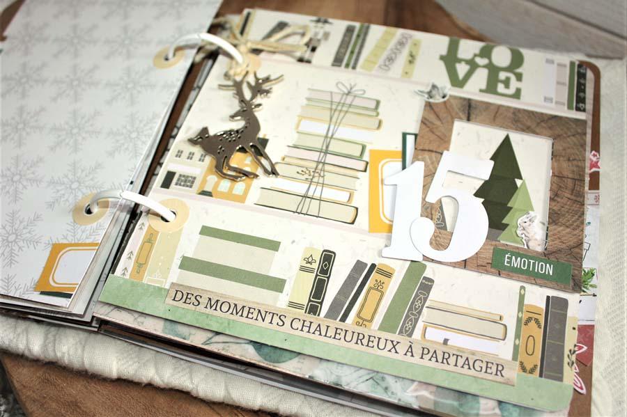 December Daily by Julie pour éphéméria-detail 8