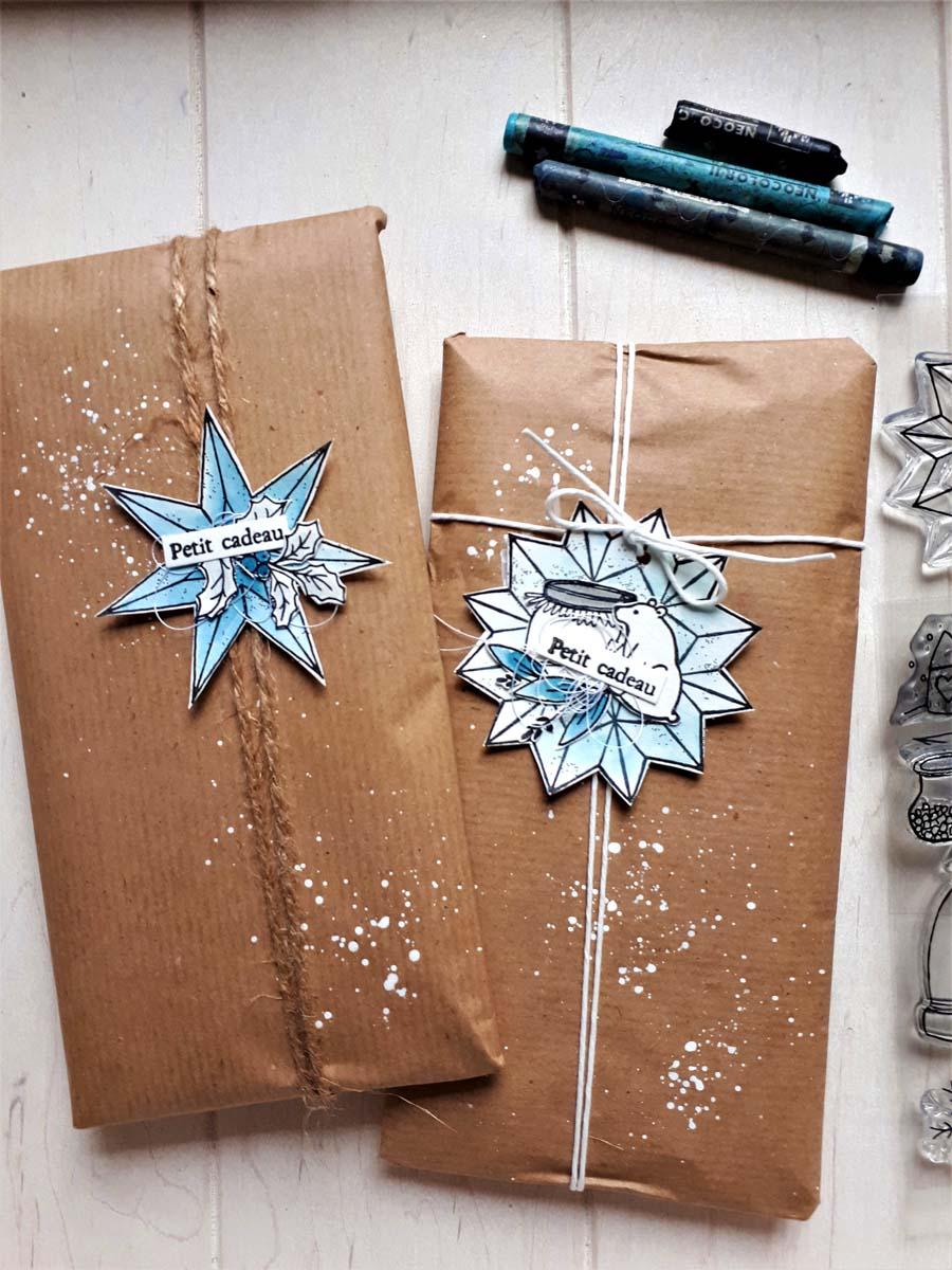 carte et emballage cadeau by Cricri pour éphéméria