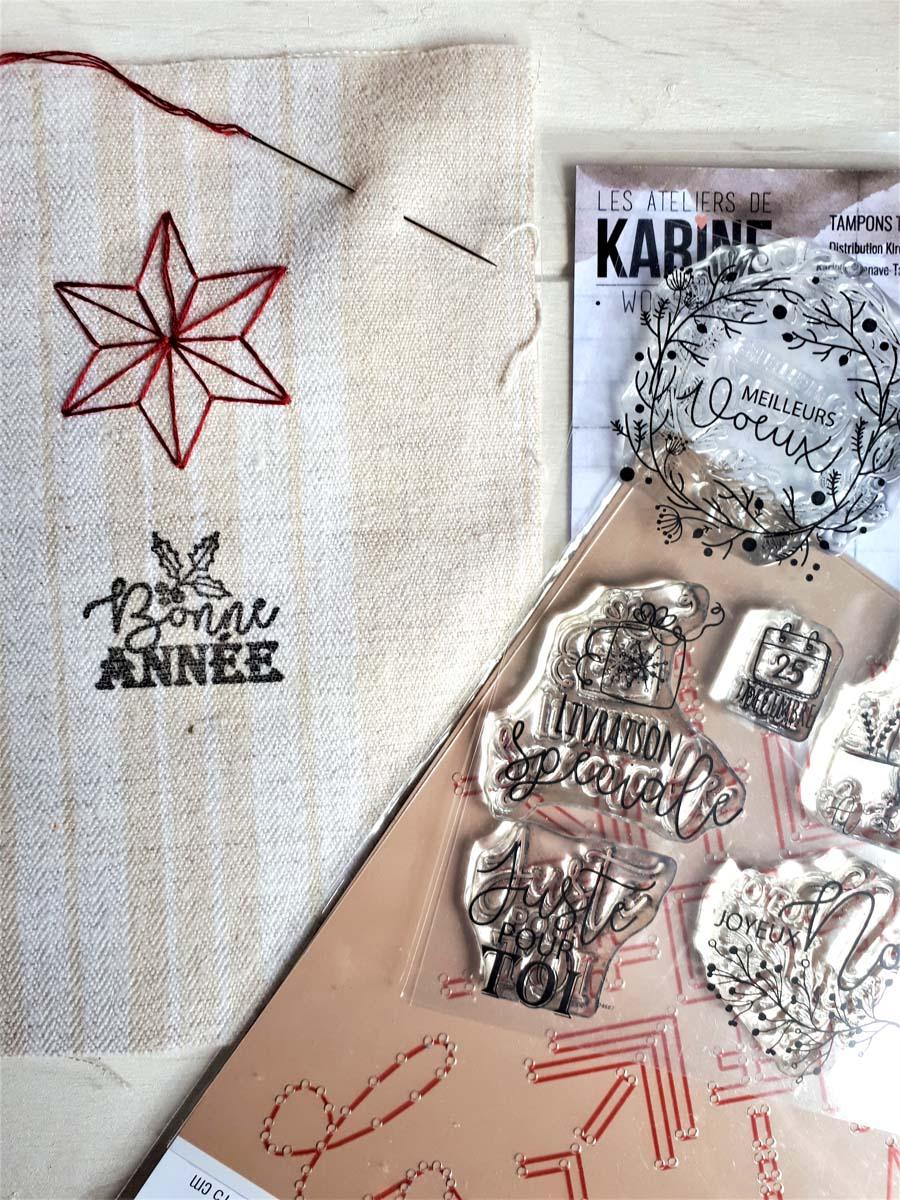sachets de lavande brodés by Cricri