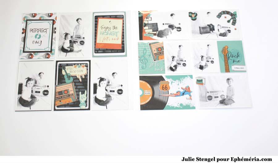 Album façon PL by Julie pour éphéméria