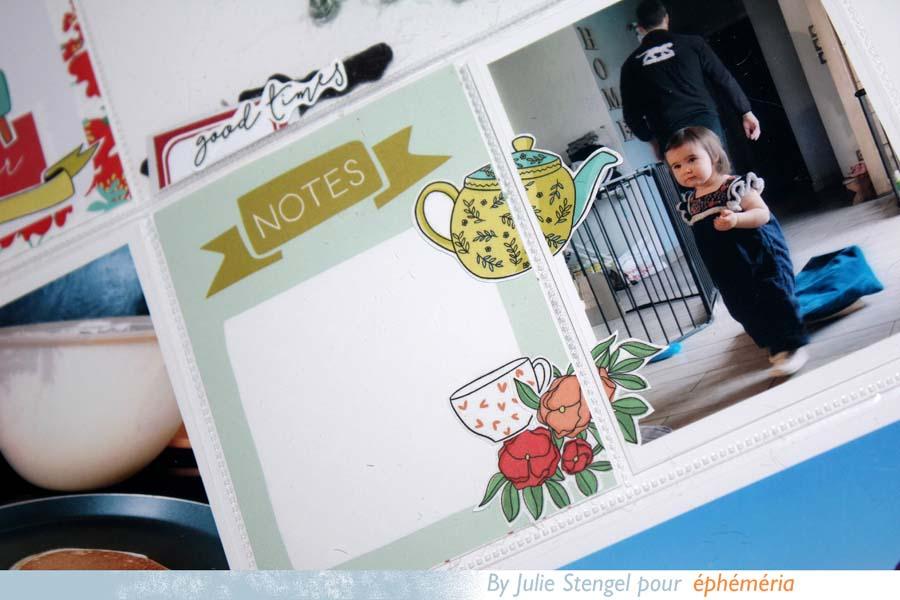 Pages Project Life by Julie pour éphéméria