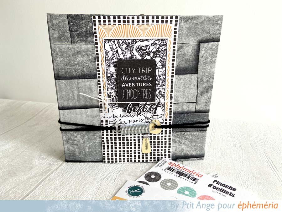 Mini album noir et blanc par Ptit Ange