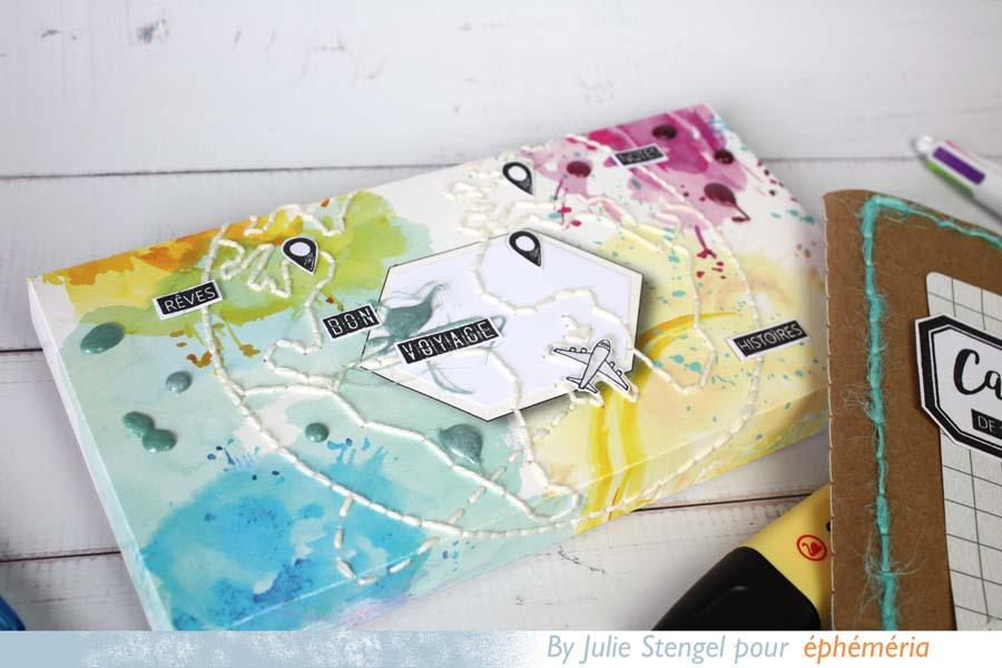 CUstomisation de la boite d'emballage de notre Box Pocket Life par Julie